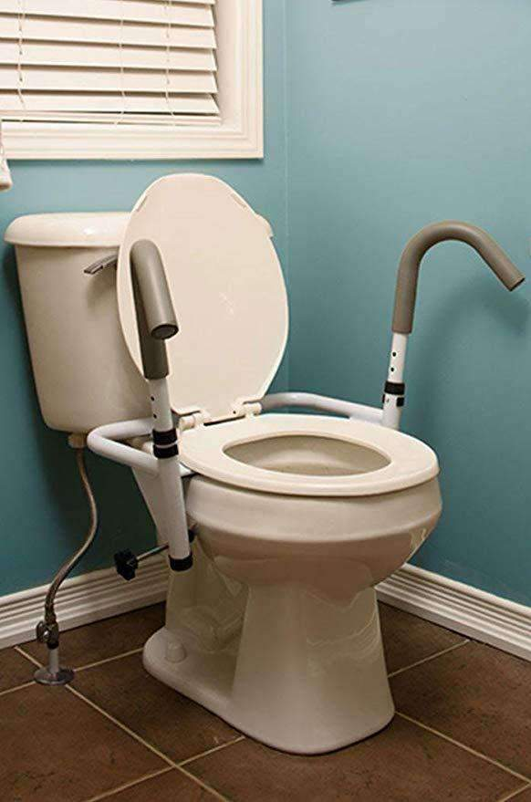 MOBB Healthcare Ultimate Toilet Seat Safety Frame - Senior.com Grab Bars & Safety Rails