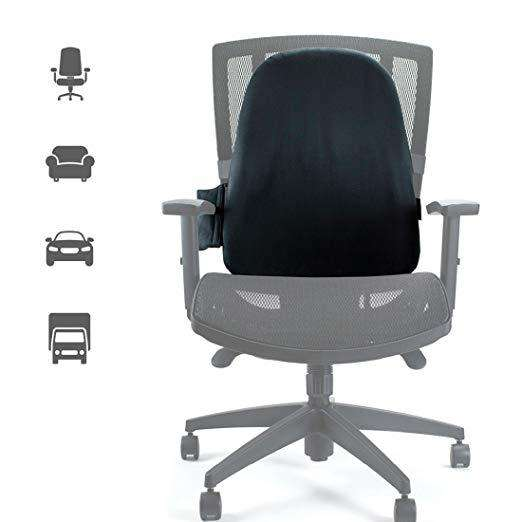 Complete Medical ObusForme Custom Air Backrest With Adjustable Lumbar Support - Senior.com Cushions