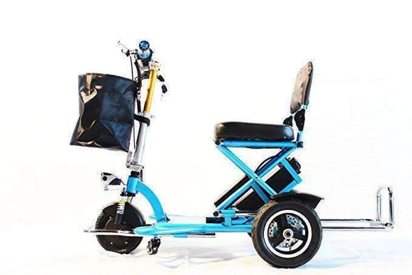 Triaxe Sport Long Distance Folding Electric Mobility Scooters - 12 MPH - Senior.com Scooters
