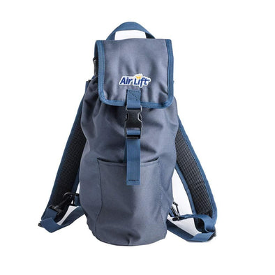 AirLift Oxygen Cylinder Backpack Bag for M6, M9/C Oxygen Cylinders, Navy Blue - Senior.com Oxygen Bags