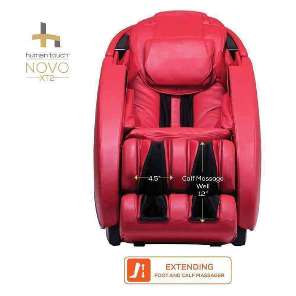 Human Touch Novo XT2 High Performance Zero-Gravity Massage Chairs - Senior.com Massage Chairs