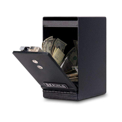 Mesa Safe Company Undercounter Depository Safe with Dual Key Lock - Senior.com Security Safes