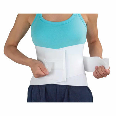 DMI Lumbar Support Back Brace with Rigid Steel Stay - Waist Size 34 to 48 inches - Senior.com Lumbar Supports