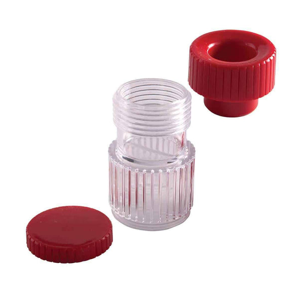 HealthSmart Pill Crusher Pill Container Pulverizer and Storage - Senior.com Daily Living Aids