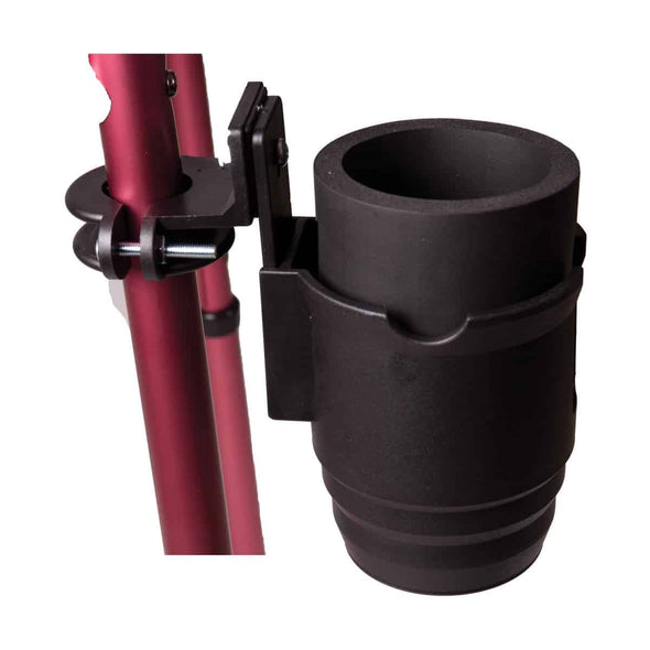 DMI Universal Beverage Cup Holder for Wheelchairs or Walkers - Senior.com Cup Holders