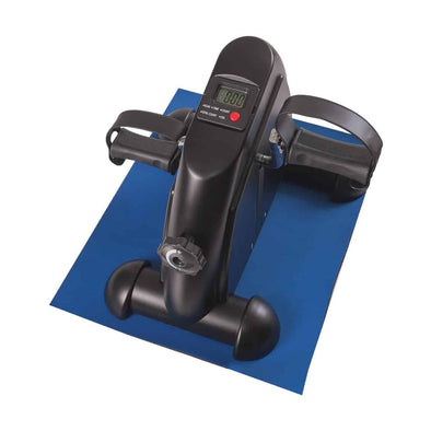 DMI Mini Fitness Exercise Peddler with Digital Control Screen and Mat - Senior.com Peddle Exercisers