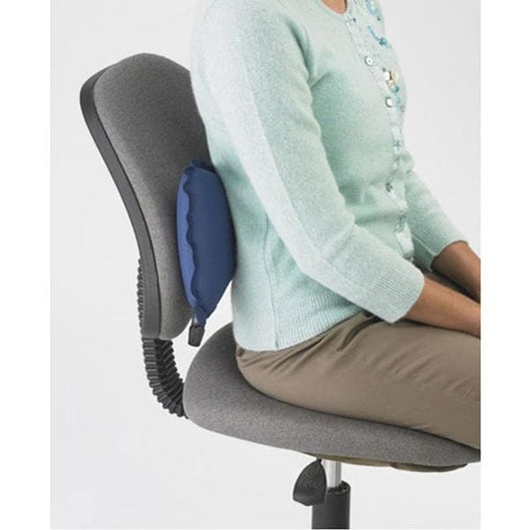 The Original McKenzie Self-Inflating AirBack Lumbar Support - Perfect For Travel - Senior.com Lumbar Supports