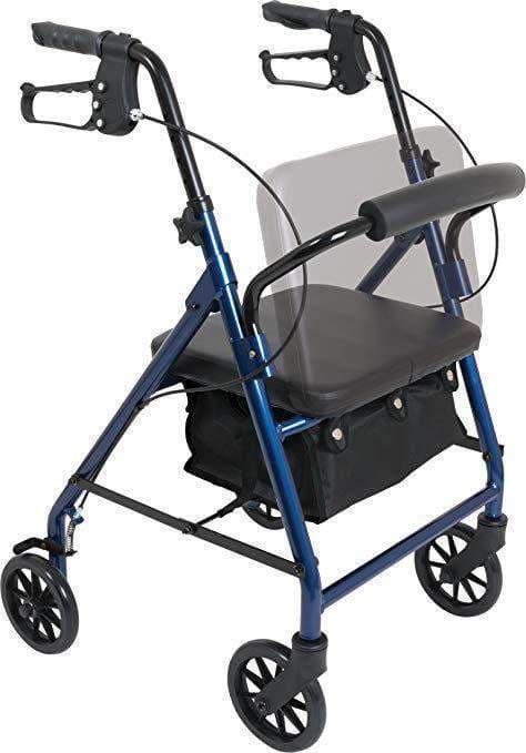Probasics Junior Aluminum Rollator with 6 Inch Wheels & 250 Pound Weight Capacity - Senior.com Junior Rollators