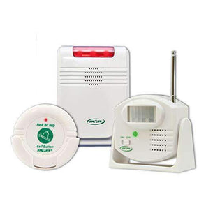 Smart Caregiver Cordless Motion Sensor and Nurse Call System for Fall Prevention - Senior.com Fall Prevention