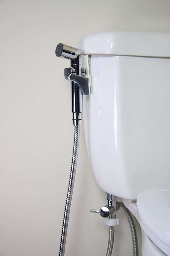 Brondell CS-30 CleanSpa Hand Held Bidet - Chrome - Senior.com Bidets