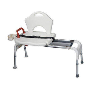 Drive Medical Folding Universal Sliding Transfer Bench - Senior.com Transfer Equipment