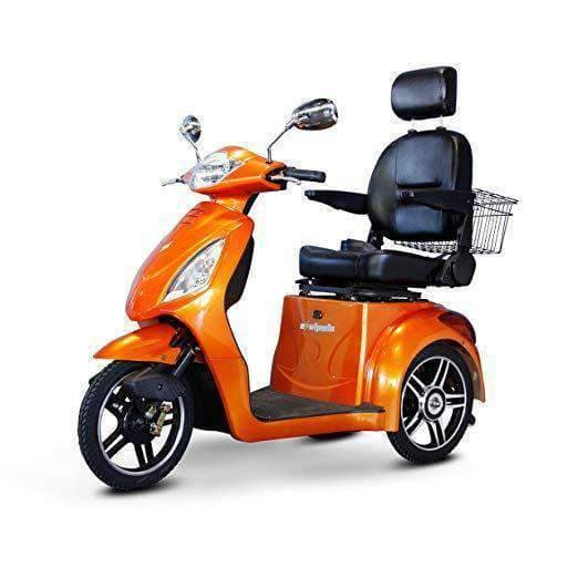 EWheels 3-Wheel Electric Mobility Scooter – Orange - Senior.com Scooters