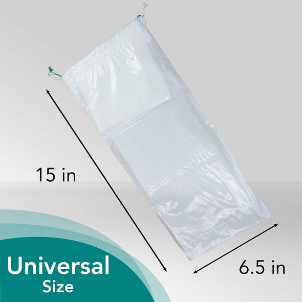 Carebag Medical Grade Male Travel Urinal Bag with Super Absorbent Pad - 20 Count - Senior.com Urinals