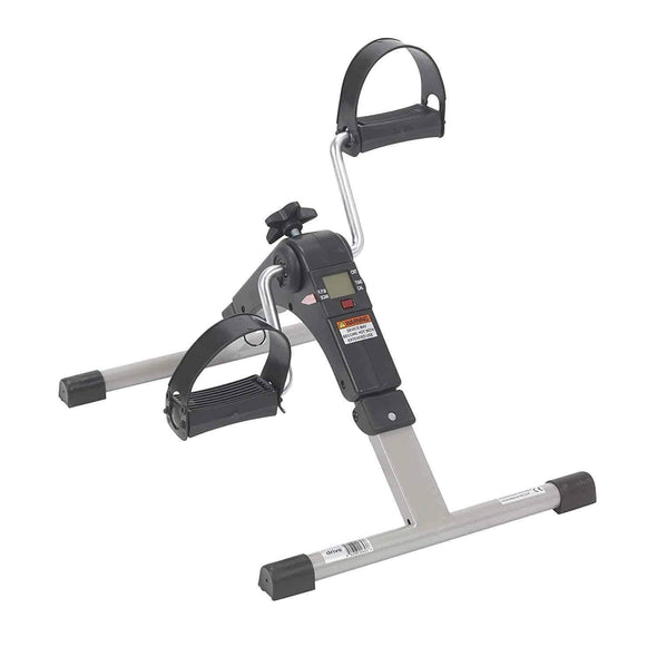 Drive Medical Deluxe Folding Exercise Peddler with Electronic Display - Senior.com Peddle Exercisers