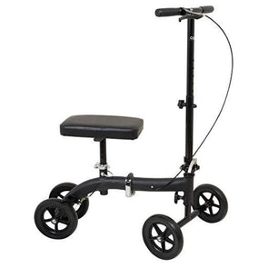 Carex Folding Knee Walker Scooter - 300 Lbs Weight Capacity