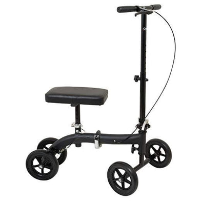 Carex Folding Knee Walker Scooter - 300 Lbs Weight Capacity - Senior.com Knee Walkers