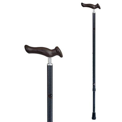 Carex Comfort Walking Cane - Walking Stick with an Ergonomic Extra Comfortable Grip - Senior.com Canes