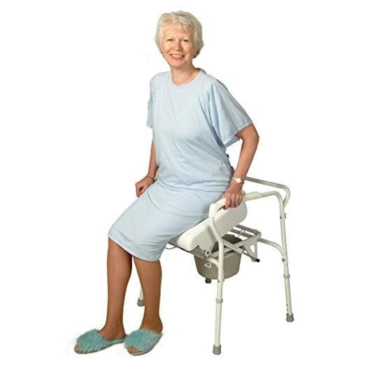 Carex Uplift Commode Assist - Self-Powered with 70% Lift Assistance - Senior.com Commodes