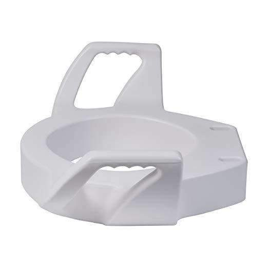 DMI Raised Toilet Seat Risers with Safety Arms - Senior.com Raised Toilet Seats