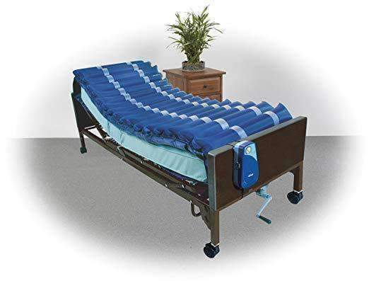 Drive Medical Med Aire Low Air Loss Mattress Overlay System with APP 5 - Senior.com Support Surfaces