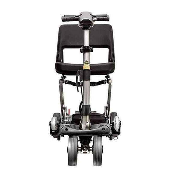 FreeRider USA Classic Luggie Compact Lightweight Foldable Scooter – Black - Senior.com Scooters