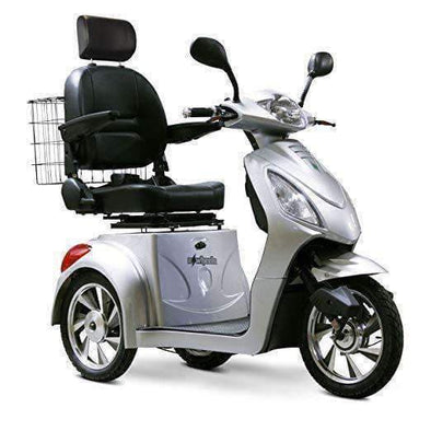 EWheels 3-Wheel Electric Mobility Scooter – Silver - Senior.com Scooters