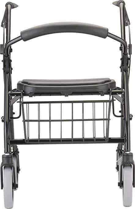"Nova Medical Cruiser Deluxe Rollators with 8"" Wheels & Basket - Senior.com Rollators"