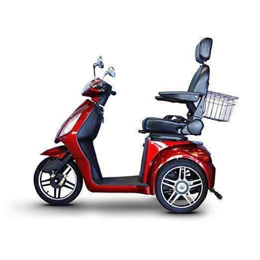 EWheels 3-Wheel Electric Mobility Scooter – Red - Senior.com Scooters
