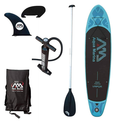 Aqua Marina Vapor Inflatable Stand Up Portable Paddle Board - Senior.com Stand Up Paddle Boards
