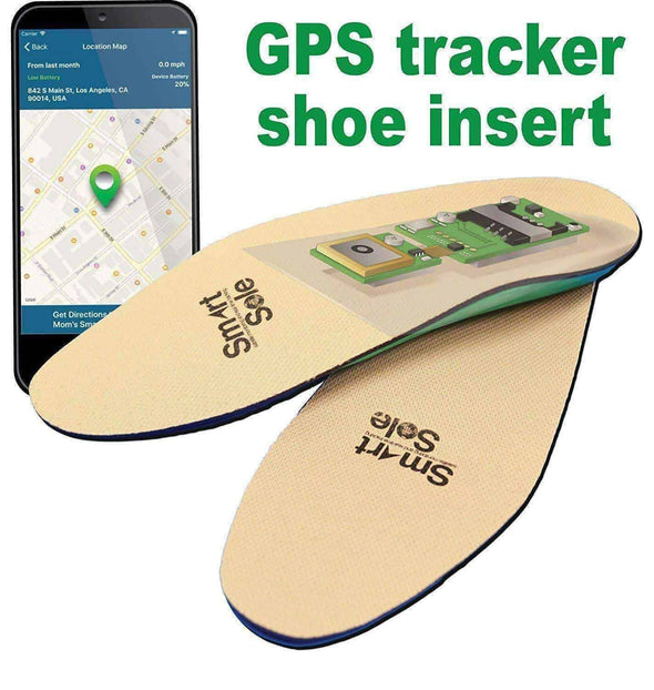 GPS SmartSole - Wearable Insoles with GPS Tracking System - Senior.com GPS Trackers
