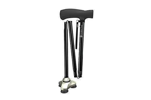 Hurry Cane Freedom Edition Folding Canes with T Handle – HurryCane - Senior.com Canes