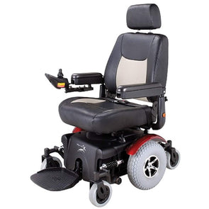 Merits Health Vision Super Bariatric Power Electric Wheelchair with Captains Seat - Senior.com Power Chairs
