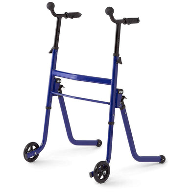 Medline Stand & Go Walker Premium 2-in-1 Stand Assist Walker with Wheels and Glides - Senior.com Stand Assist Aids