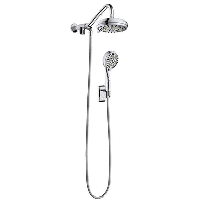 "Pulse ShowerSpas Oasis Shower System with 5-Function 7"" Showerhead and 6-Function Hand Shower - Senior.com Shower Systems"