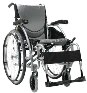 Karman Healthcare S-Ergo Folding Lightweight Ergonomic Wheelchair with Quick Release Axles - Senior.com Wheelchairs