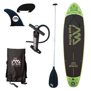 Aqua Marina Breeze 9' Stand Up Inflatable Paddle Board - Senior.com Stand Up Paddle Boards