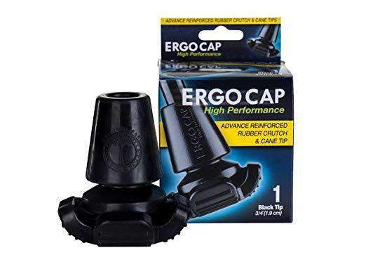 ErgoActives Ergocap High Performance Universal Rubber Crutch Tip - Senior.com Crutch Tips & Accessories