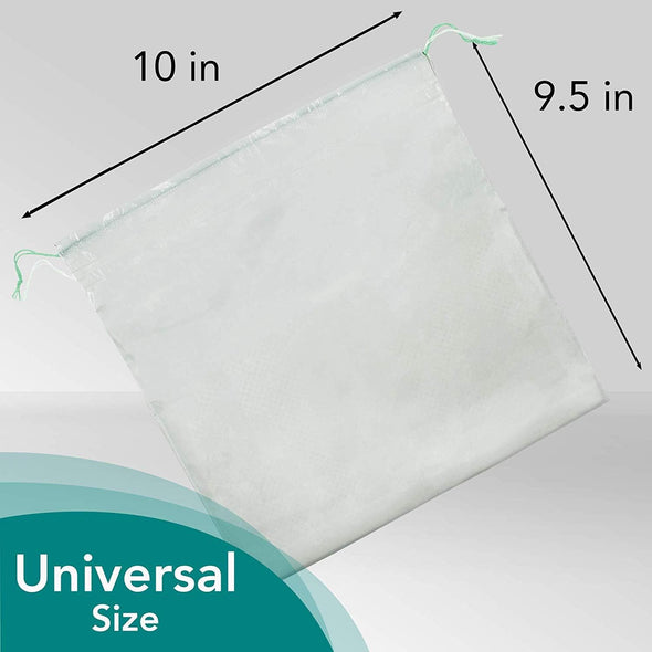 Carebag Medical Grade Disposable Vomit Bags with Super Absorbent Pad - 20 Count - Senior.com Vomit Bags