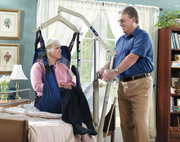 Invacare Personal Hydraulic Patient Body Lift - Senior.com Patient Lifts