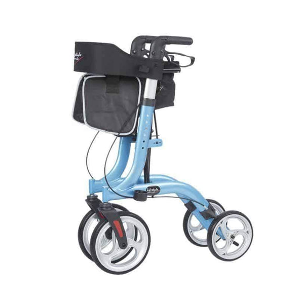 Lifestyle Mobility Aids DLX Venture Euro Style Rollators - Only 15 lbs - Senior.com Rollators