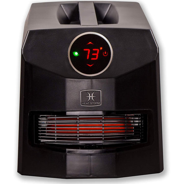 Heat Storm Mojave Ultra Portable Infrared Quartz Heater - Senior.com Heaters & Fireplaces