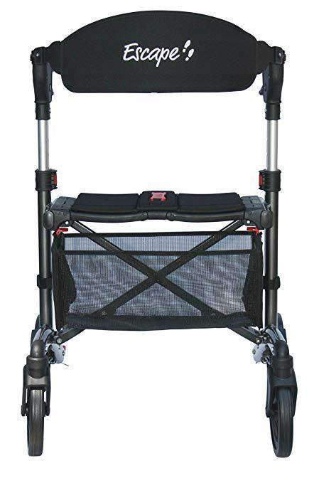 Triumph Mobility Escape Premium Folding Portable Rollators - Senior.com Rollators