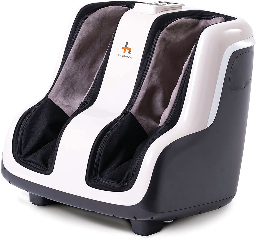 Human Touch Reflex SOL Foot and Calf Relaxation Shiatsu Massager with Heat and Vibration - Senior.com Foot Massagers