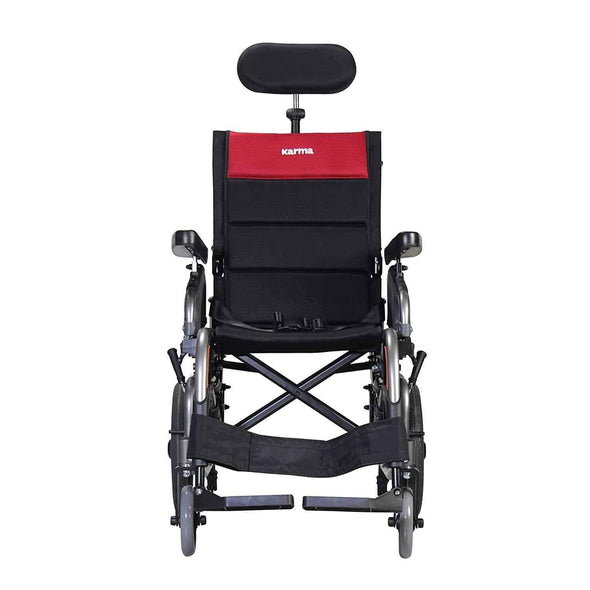 Karman Healthcare Tilt in Space Reclining Transport Wheelchairs - Senior.com Wheelchairs