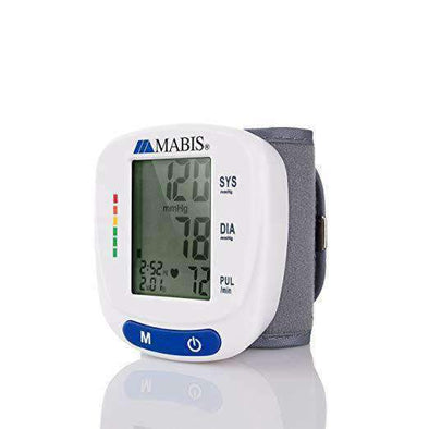 Mabis Digital Wrist Blood Pressure Monitor - Senior.com Exam & Diagnostics