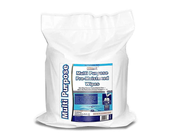 Germisept Multipurpose Gym & Wellness Center Cleaning Wipes Plus Wall Dispenser Combo - Senior.com Cleansing Wipes