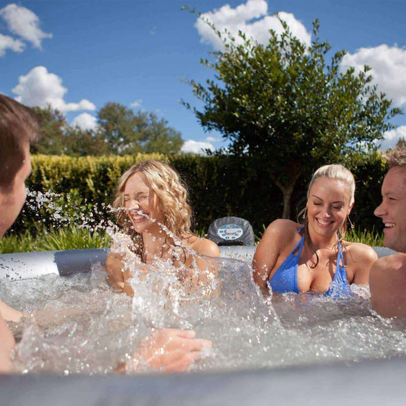 MSPA Silver Cloud Portable Luxury Hot Tubs with Jets - Senior.com Hot Tubs & Jacuzzis