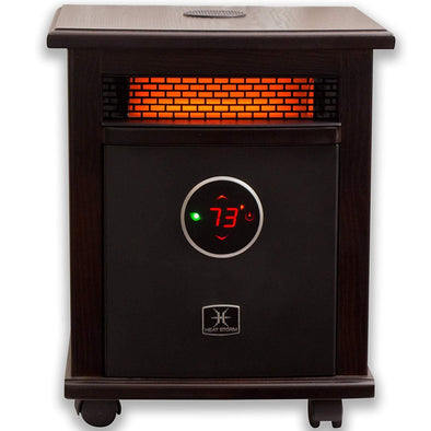Heat Storm Deluxe Logan Portable Infrared Space Heater w/ Bluetooth Speaker - Senior.com Heaters & Fireplaces