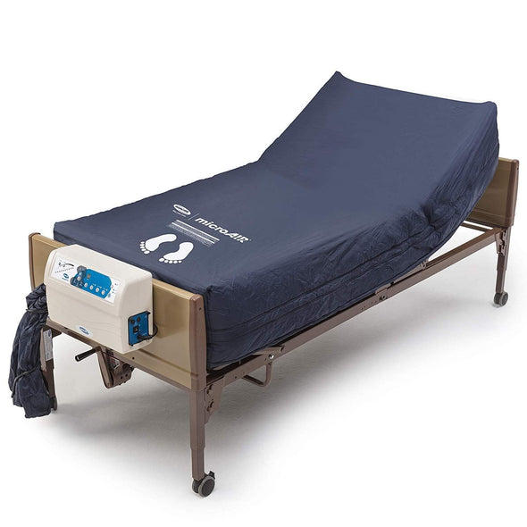 Invacare MicroAIR Lateral Rotation Bariatric Low Air Loss Mattress - Senior.com Mattresses