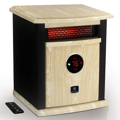 Heat Storm Deluxe Logan Portable Infrared Space Heater with Digital Display - Senior.com Heaters & Fireplaces